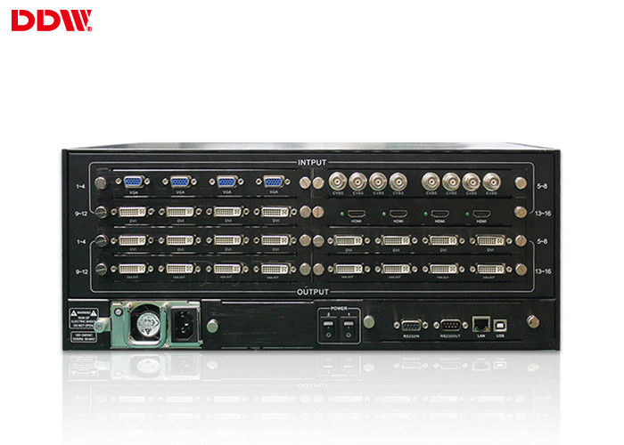 LCD video wall processor 1920 x 1200 upto 4K input output Pure hardware designed DDW-VPH0507